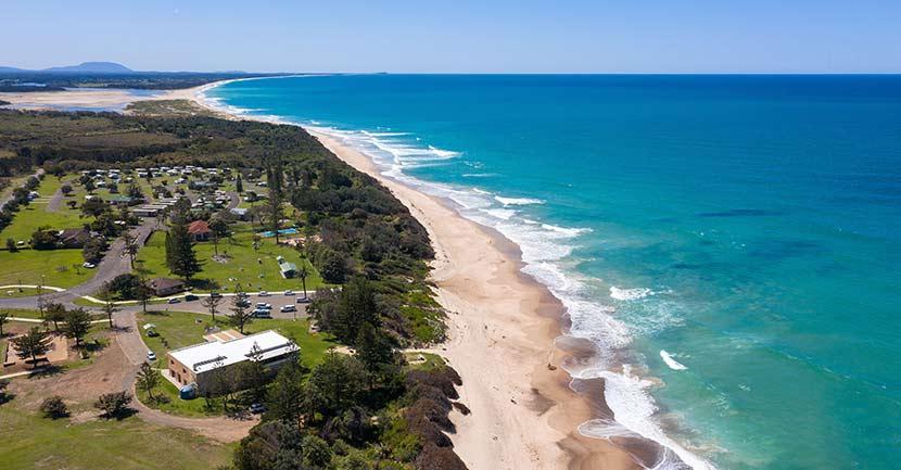 Old Bar Beach NSW